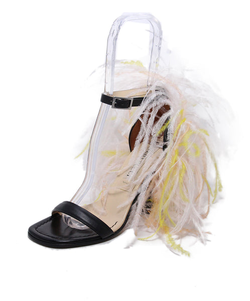 Emilio Pucci Feather Heels 1