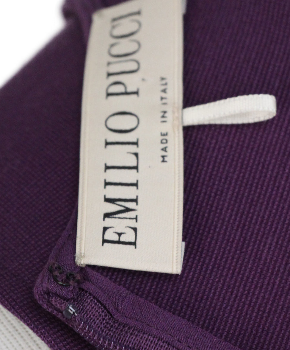 Emilio Pucci Plum sleeveless dress 4