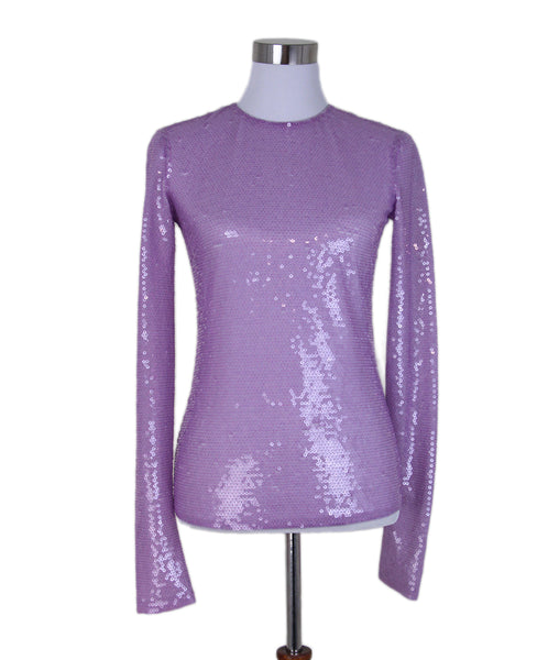 Emilio Pucci Purple Lilac Sequins Top 1