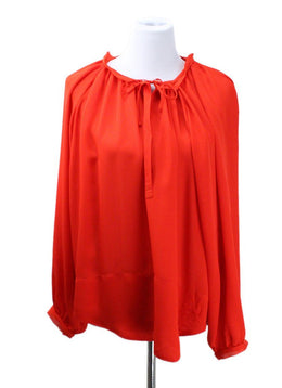 Emilio Pucci Red Silk Top
