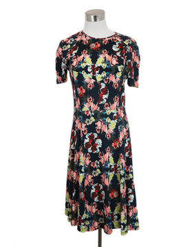 Erdem Navy Floral Dress 1