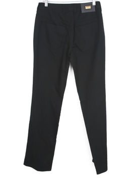 Escada Black Cotton Pants 2