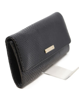 Escada Black Vinyl Wallet 2