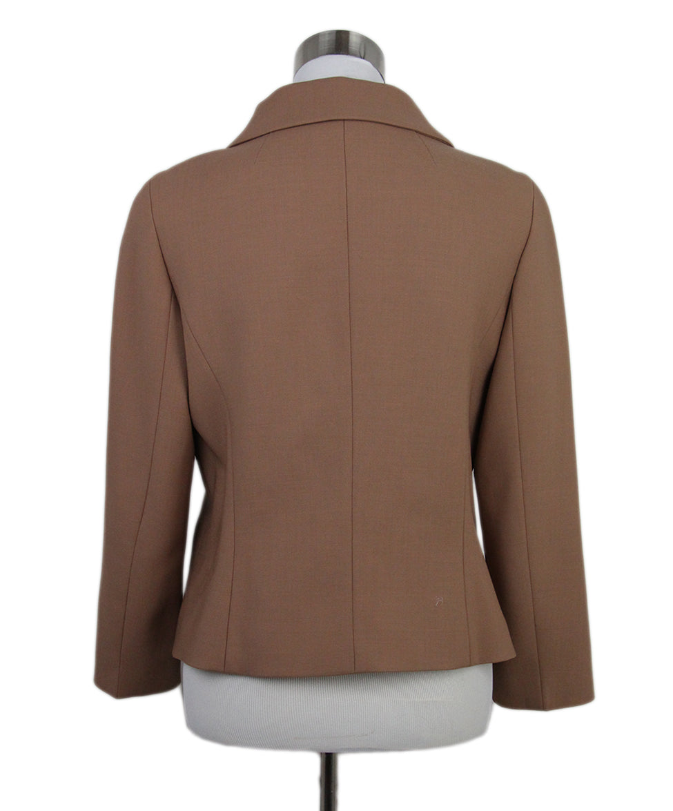 Escada Caramel Black Velvet embroidery jacket 3