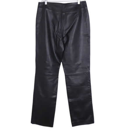 Escada Sport Black Leather Pants 1