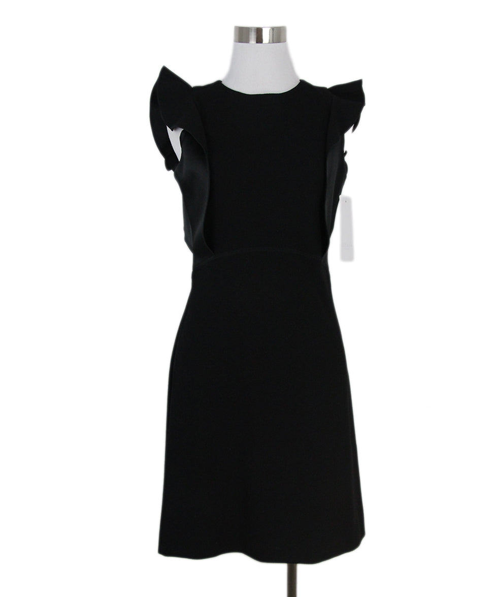 a8844e379839 Escada Sport Size 2 Black Viscose Silk Dress - Michael's Consignment NYC