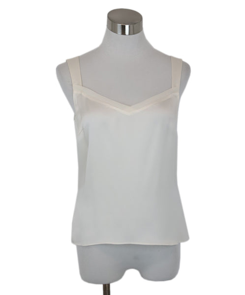 Escada White Ivory Silk Top 1