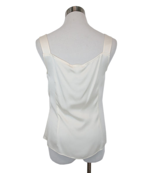 Escada White Ivory Silk Top 3