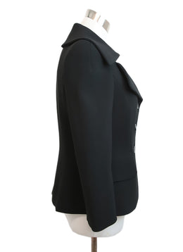 Escada Black Triacetate Polyester Blazer 2