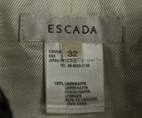 Escada Brown Pressed Leather Skirt 3