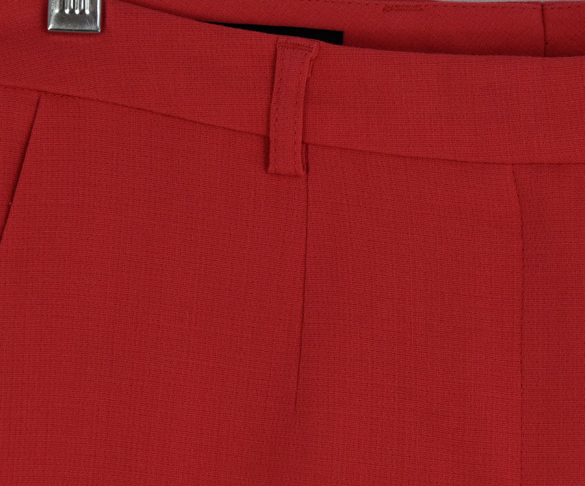 Escada Pink Coral Wool Pants 4