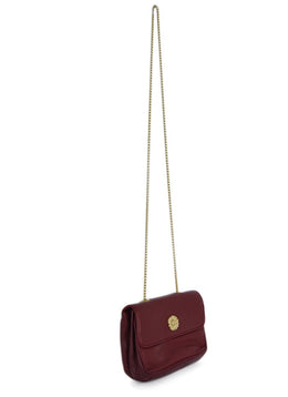Escada Red Leather Crossbody Handbag 2