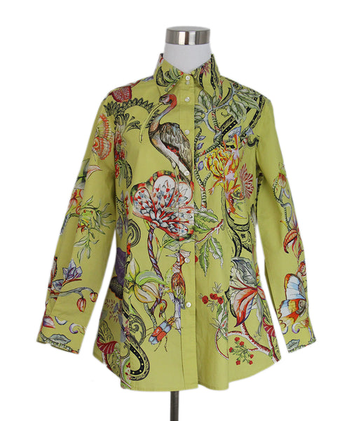 Etro Yellow Floral Top 1