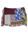 Etro Blue Red Yellow Cotton Throw Blanket 2