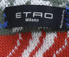 Etro Blue Red Yellow Cotton Throw Blanket 4