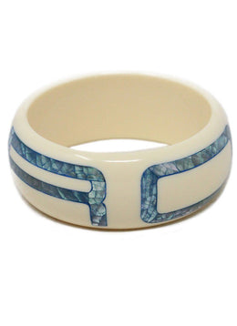 Bracelet Etro Neutral Cream Blue Mother Of Pearl Jewelry 1