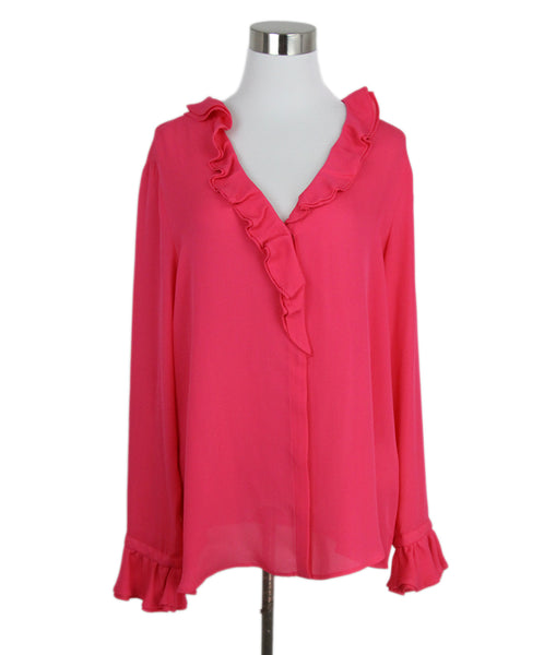 Blouse Etro Pink Fuchsia Silk Top 1