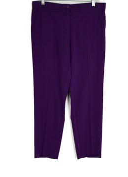 Etro Purple Dress Pants sz. 8 | Etro