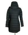 Fabiana Filippi Grey Charcoal Wool Fox Trim Outerwear 3