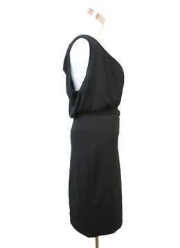 Fendi Black Cotton Spandex Dress 2