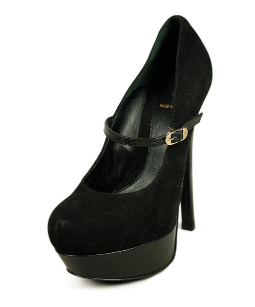 Fendi Black Suede Shoes 1