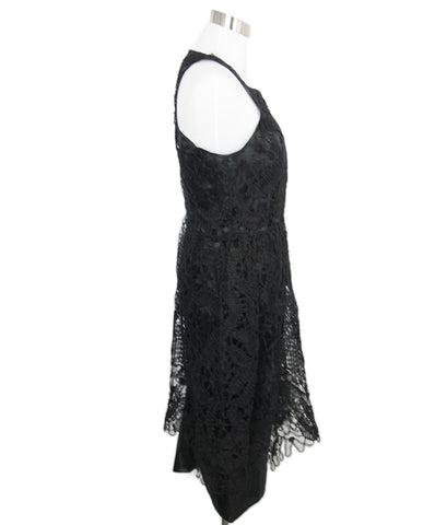 Fendi Black Tulle Cutwork Dress 1