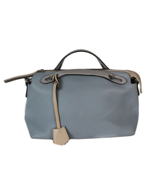 Fendi Blue Leather Bag 1
