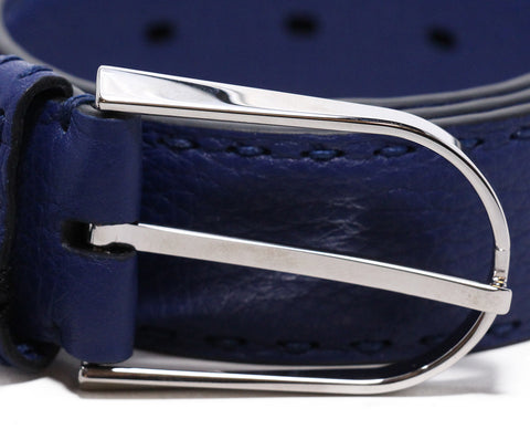 Fendi Blue leather belt 1