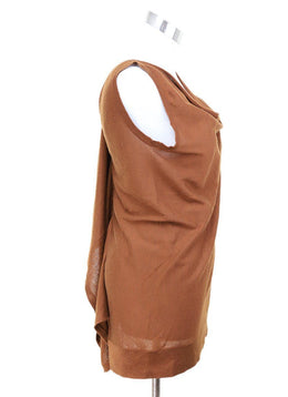 Fendi  Brown Cashmere Silk Top 1