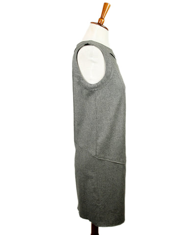 Fendi Grey Wool Dress 1