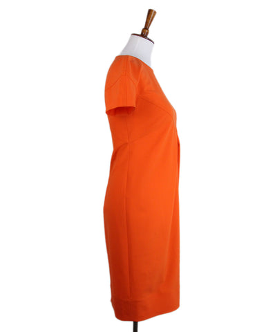 Fendi Orange Wool Dress 1