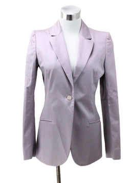 Fendi Lavender Cotton Jacket