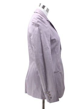 Fendi Lavender Cotton Jacket 1