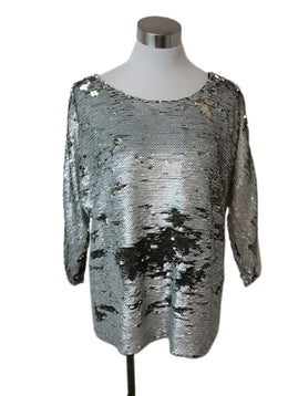 Fendi Silver Gold Sequins Top 1