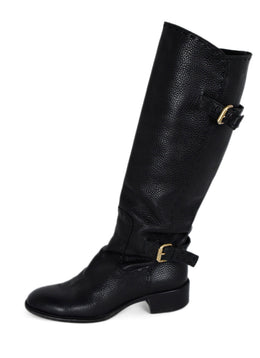 Fendi Black Leather Boots 2