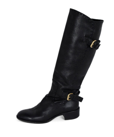 Fendi Black Leather Boots 1