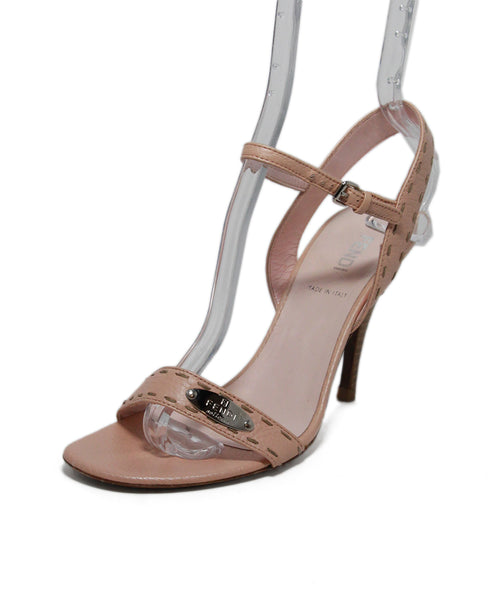 Fendi pink Leather Heels 1