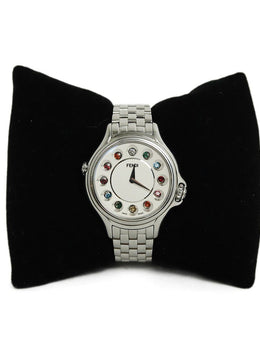 Watch Fendi Stainless Steel Multi Rhinestone 1