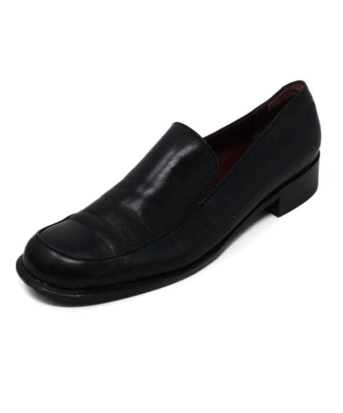 Ferragamo Black Leather Loafers 1