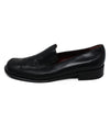 Ferragamo Black Leather Loafers 2