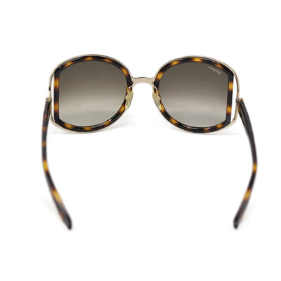 Ferragamo Brown Tortoise Shell Sunglasses 1