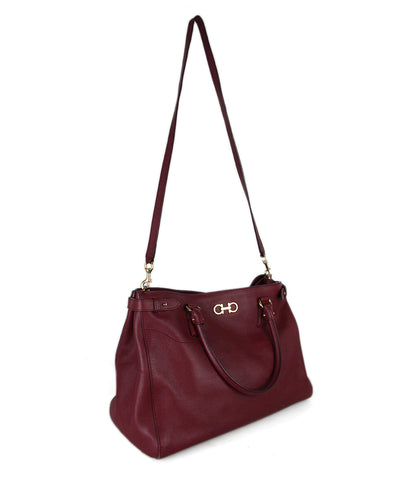 Ferragamo Burgundy Leather Satchel 1 Ferragamo Burgundy Leather Satchel 1 7deb2d50d0217