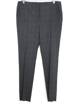 Ferragamo Grey Wool Pants 1
