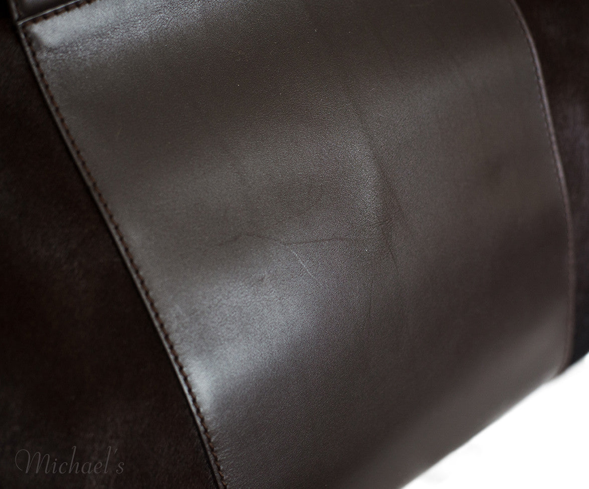 Ferragamo Brown Pony Leather Silver Hardware w/ Dust Bag - Michael's Consignment NYC  - 11