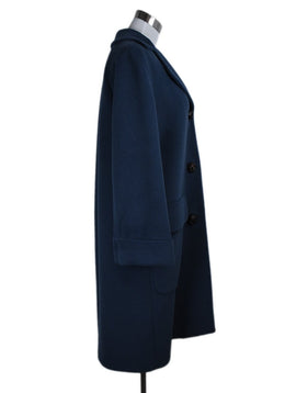 Ferragamo Blue Teal Wool Coat Outerwear 2