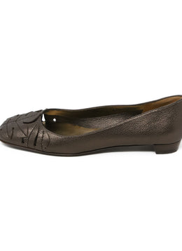 Ferragamo Brown Leather Flats 2