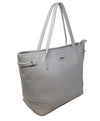 Ferrari White Leather Tote 2