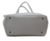 Ferrari White Leather Tote 4