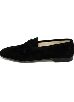 Fiorentina Black Suede Shoes 2