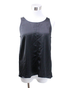 Forte Forte Black Silk Top